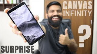 Micromax Canvas Infinity Unboxing and First Look - Really Infinite? My Opinions