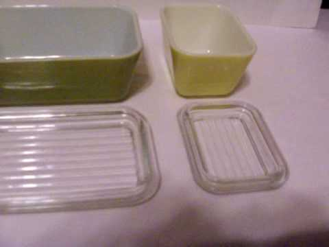 Vintage Pyrex Glass Refrigerator Storage Containers YouTube