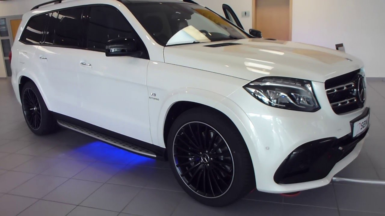 Gls 63 Amg >> 2016 Mercedes GLS 63 AMG 4Matic Exterior & Interior 576 Hp 250 Km/h 155 mph * see also Playlist ...