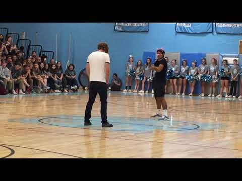 Staff vs Student Dance Off (South Burlington High School )