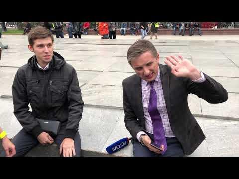 """Как на пикетах встретили журналистов """"России"""""""