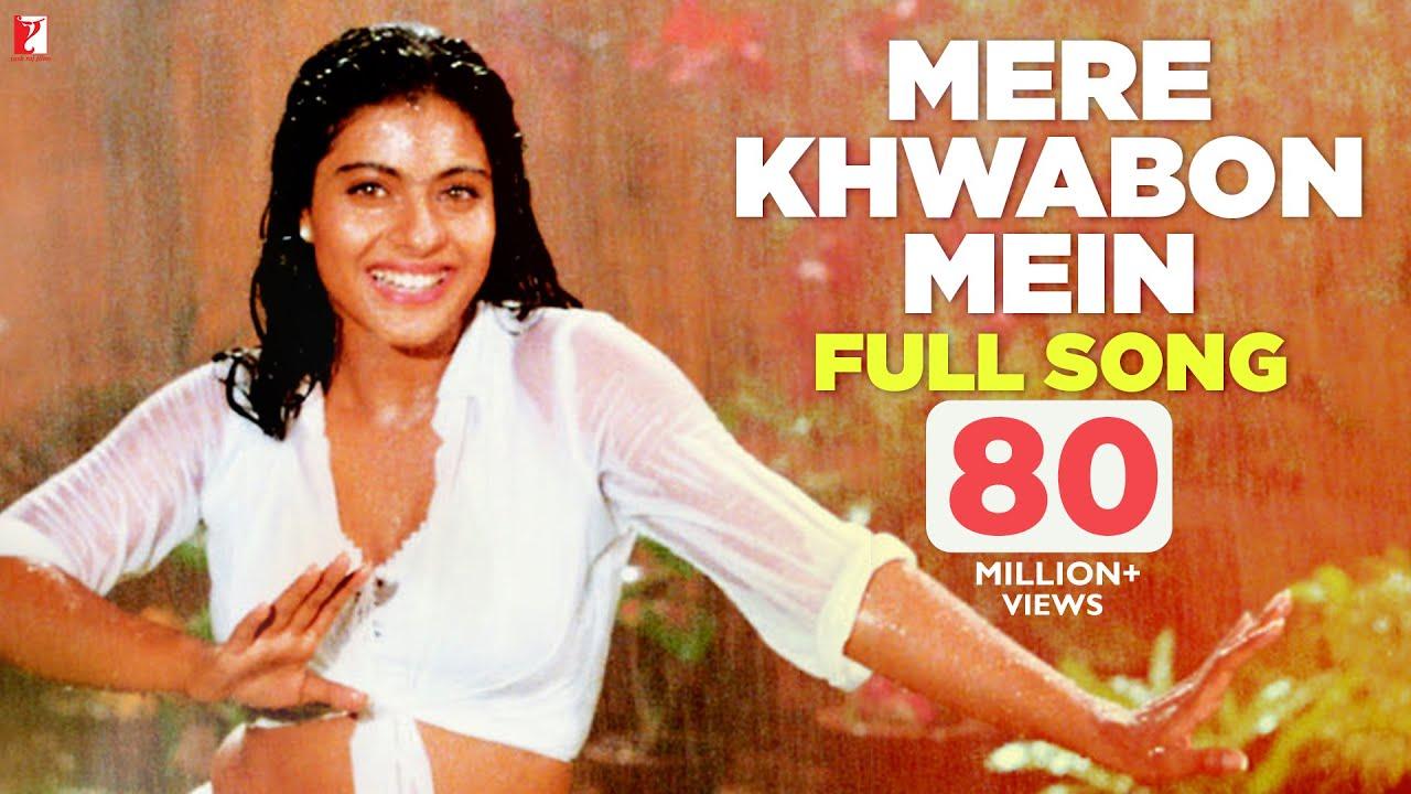 Download Mere Khwabon Mein | Full Song | Dilwale Dulhania Le Jayenge | Shah Rukh Khan, Kajol | Lata | DDLJ