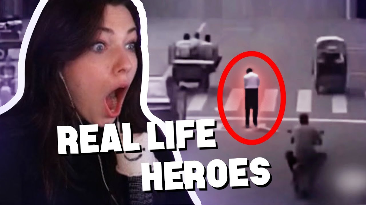 Reved REAGIERT auf Real Life HEROES Caught on Camera! 😨