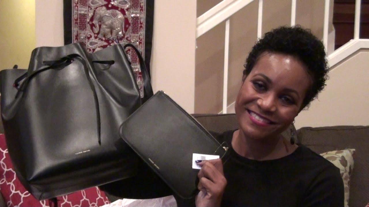 a9e4119df5 Introducing My New Mansur Gavriel Bucket Bag(Black Flamma) ! - YouTube