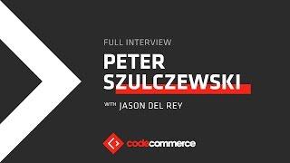 Peter Szulczewski, CEO of e-commerce app Wish, raised $1 billion in two years