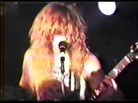 Megadeth Token Lounge @ Detroit, Mi, USA October 28, 1986