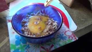 Гречневая каша с яйцом