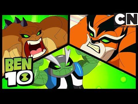 Ben 10 Nuevos Aliens - Temporada 3 | Ben 10 en Español Latino | Cartoon Network