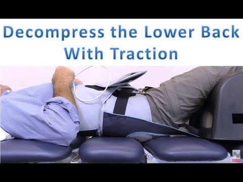 Lower Back Decompression Machine - Lumbar Mechanical Traction