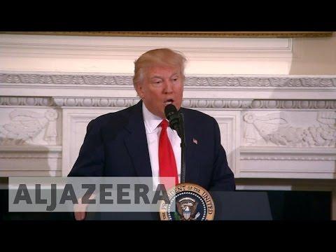 Trump 'seeks $54bn Increase' In Military Budget