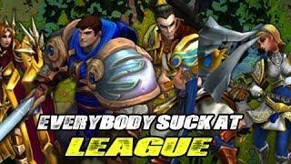 Everybody Sucks at League - (LoL Music Video)