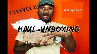 MEN's Unboxing Haul | Forever 21 ,Kyc Vintage, Aliexpress |