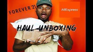 MEN's Unboxing Haul   Forever 21 ,Kyc Vintage, Aliexpress  