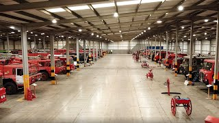 Bloke Bought 52 Fire Engines and Started a Museum.  Fire Engine Enthusiast.