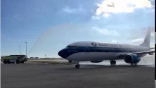 USA TODAY-Eastern Airlines returns to Miami with first Boeing 737