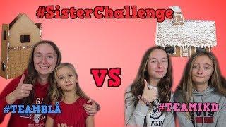 Vem gör det finaste pepparkakshuset | #Sisterchallenge