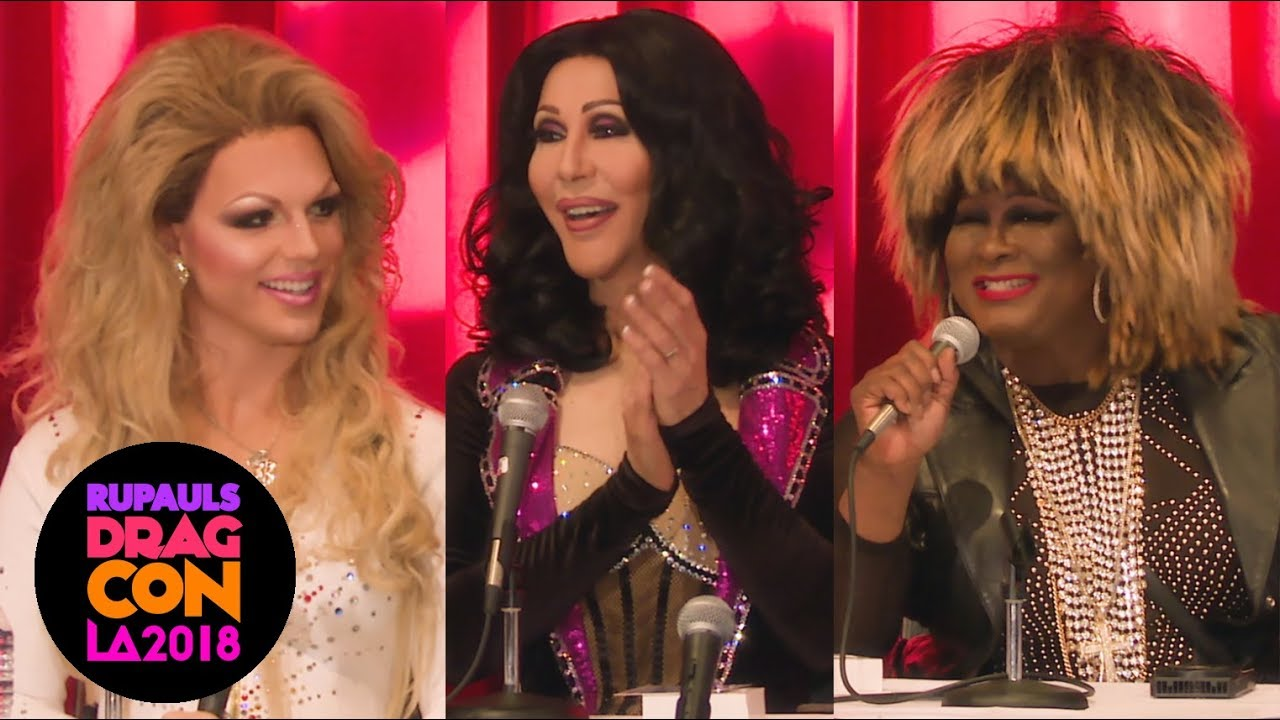 Seeing Stars with Chad Michaels, Derrick Barry and Larry Edwards @ RuPaul's DragCon LA 2018