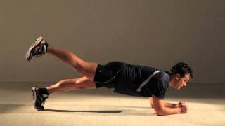 Super Plank With Leg Raise