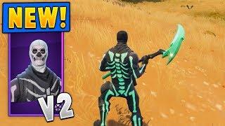*NEW* Skull Ranger Skins + Skull Sickle Pickaxe! (Multiple Styles/Challenges!)