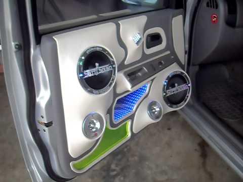 สุทธิซาวด์ กับ isuzu  D_MAX  4 ประตู