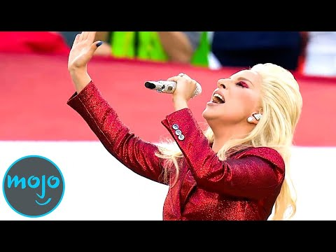 Top 10 American Anthem Performances!