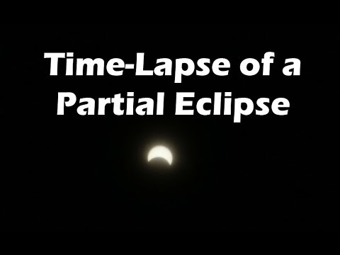 How to Film a Partial Solar Eclipse