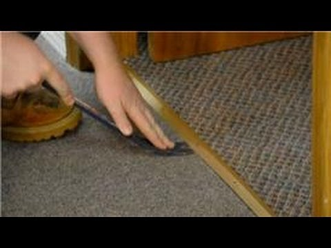 Trim & Molding : How to Replace Carpet Trim - YouTube