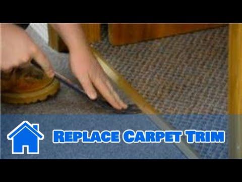 Trim  Molding  How to Replace Carpet Trim  YouTube