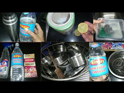 6 Useful kitchen tips and tricks tamil || 6 சமையலறை குறிப்புகள் || Uses of vinegar in kitchen