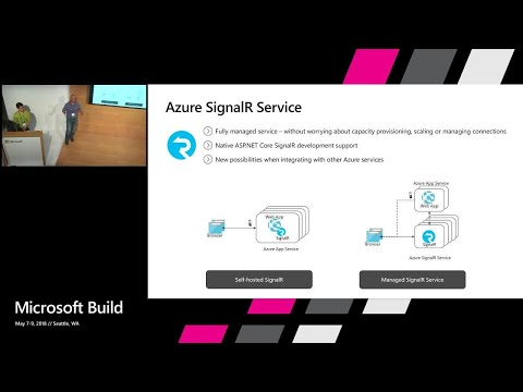 Build and manage real-time applications easily with the all new Azure SignalR Service: Build 2018