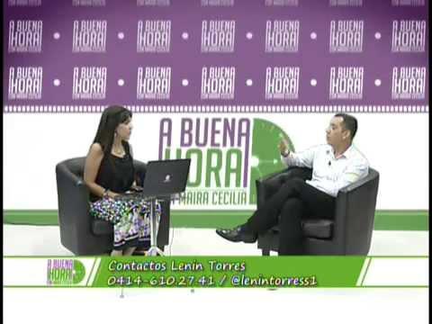"Lenin Torres. El Poder de decir NO.Entrevista en ""A Buena Hora""."
