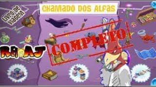 AJ- LIVRO DE VIAGEM- CHAMADO DOS ALFAS COMPLETO!!!
