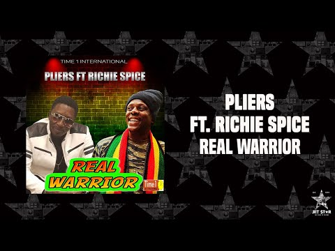 Pliers feat. Richie Spice - Real Warrior (Official Audio) | Jet Star Music