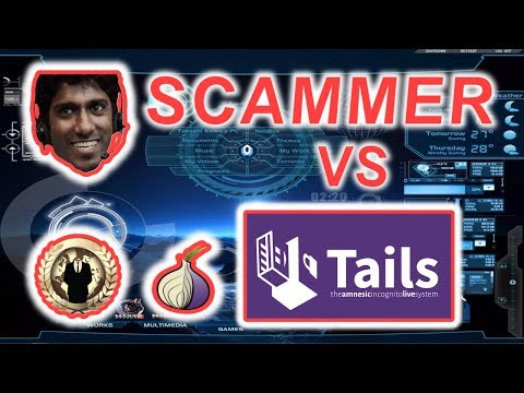 Indian Tech Support Scammer vs Tails OS