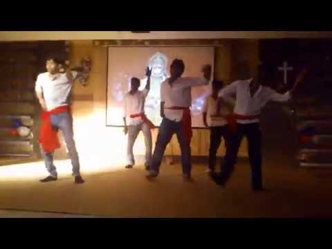 JAI HO PAWAN KUMAR HANUMAN MODERN GROUP DANCE BY STUDENTS OF SNC(BOYS) ON CHRISTMAS FUNCTION