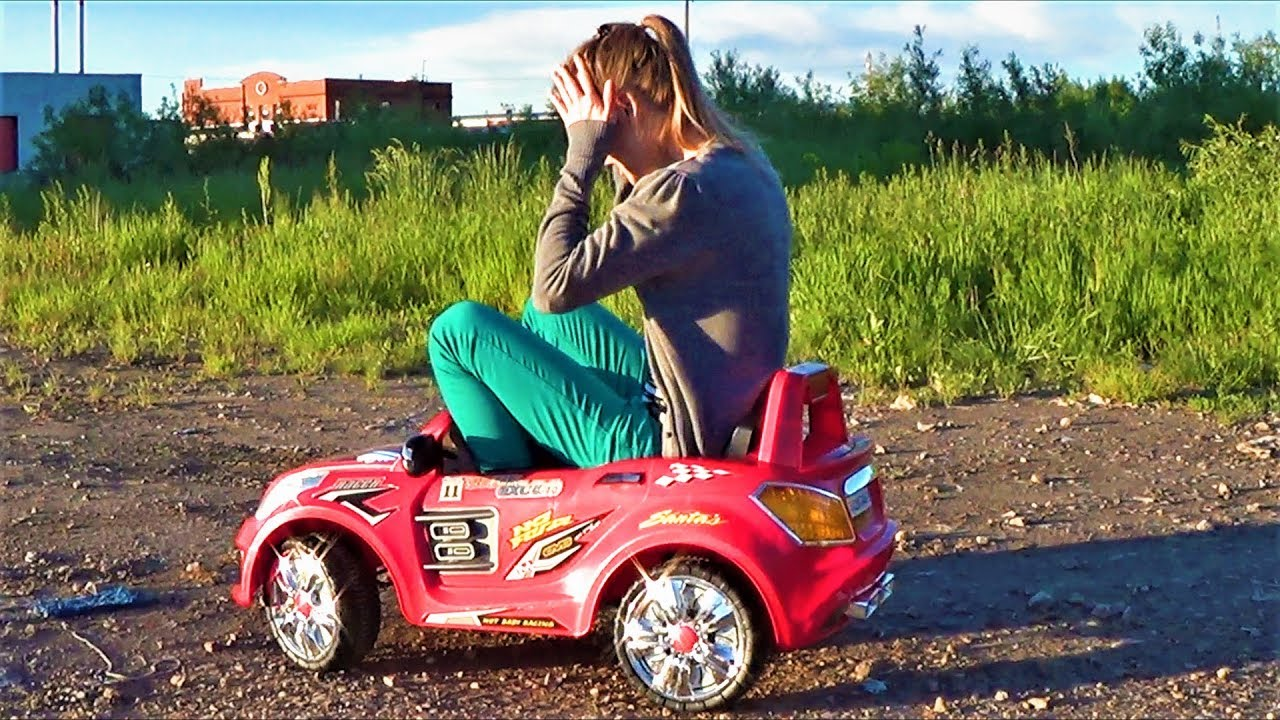 Транспорт для детей - Мама катается на машине - Тачки для детей