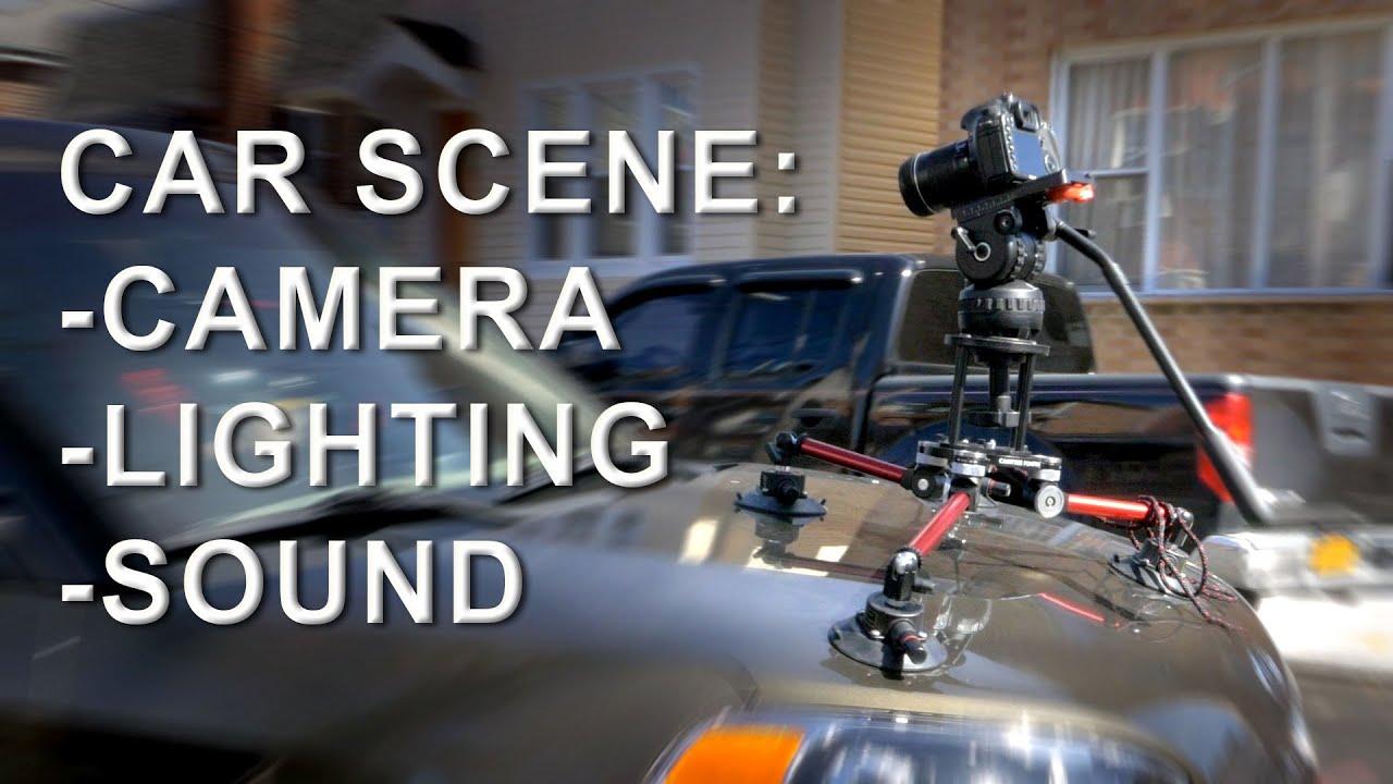Car Scene: Camera, Lighting & Sound Tutorial