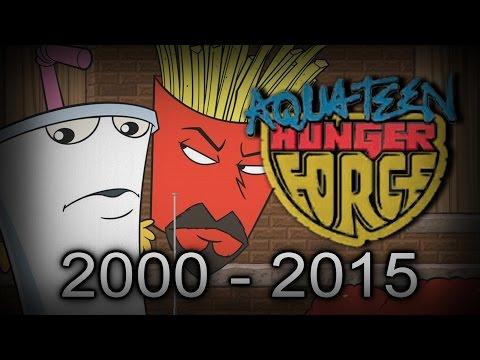 AQUA TEEN HUNGER FORCE  Final Goodbye 2000  2015