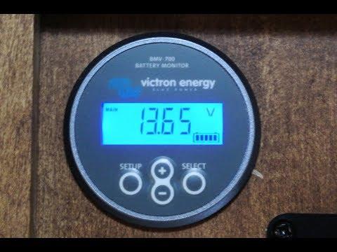 Installing the BMV700 Battery Monitor in my RV