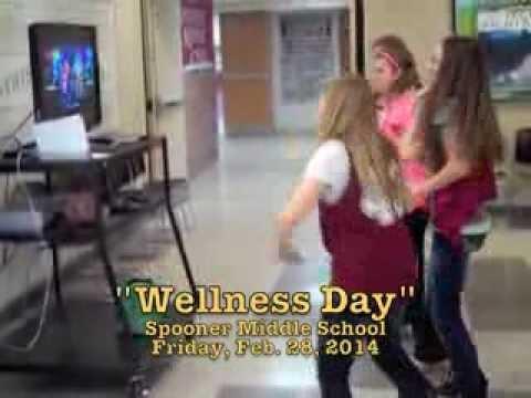 2014 Spooner Middle School Wellness Day