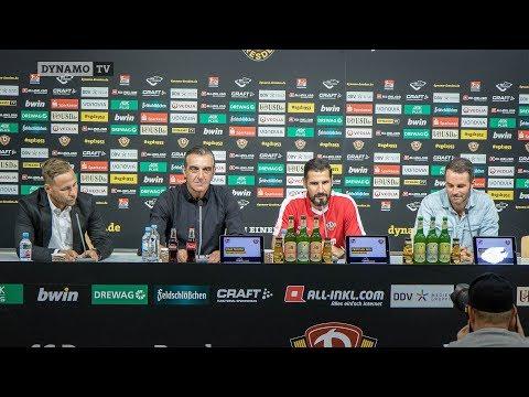 3. Spieltag | SGD - FCH | Pressekonferenz vor dem Spiel