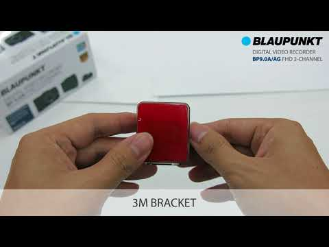 Blaupunkt Driving Video Recorder BP9.0 A/AG FHD 2-Channel Unboxing