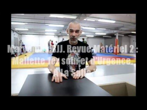 Marvelous BJJ  Revue Matériel 2  Mallette 1er Soin Et D'Urgence  A La Salle