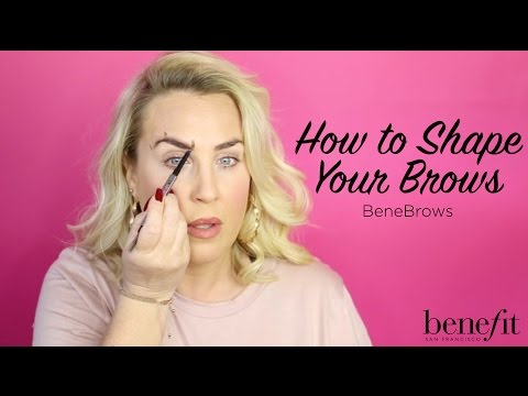 BeneBrows | How to Shape your Brows