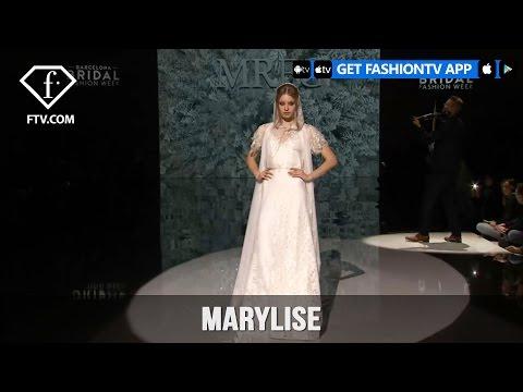Barcelona Bridal Week - Marylise | FashionTV
