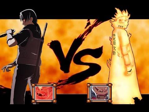 Minato VS Itachi // DEATH BATTLE