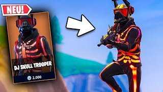 The RARE DJ Skull Trooper Lama Skin 💀 | Fortnite Season 6 German German