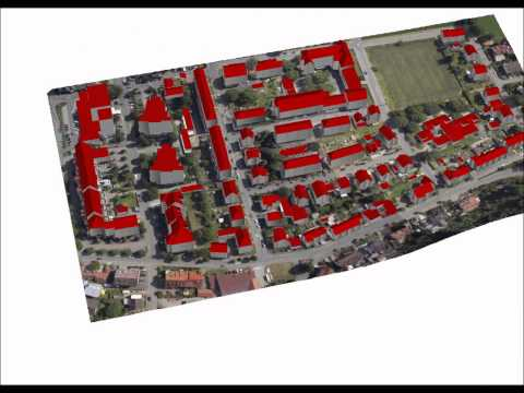 The Use of GIS for 3D Urban Models Reconstruction from Aerial Lidar Data