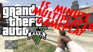 Cover images GTA 5 FIRST PERSON SHOOTING GAMEPLAY! (Exclusive)