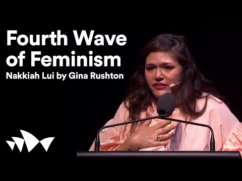 All About Connections: Nakkiah Lui 'Fourth Wave Feminism' by Gina Rushton